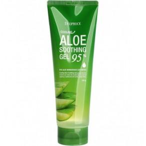 Универсальный успокаивающий гель с Алоэ Вера Deoproce Cooling Aloe Soothing Gel 95%