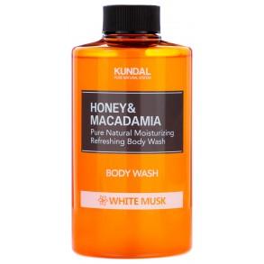 "Гель для душа ""Белый мускус"" Kundal Honey & Macadamia Body Wash White Musk 100ml"