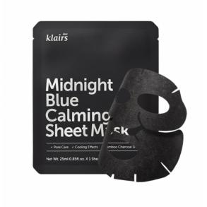 Dear, Klairs Midnight Blue Calming Sheet Mask
