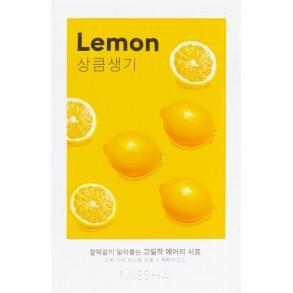 Маска для лица с экстрактом лимона Missha Airy Fit Lemon Sheet Mask