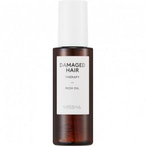 Насыщенное масло для поврежденных волос Missha Damaged Hair Therapy Rich Oil