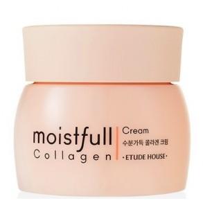 Омолаживающий крем для лица с коллагеном Etude House Moistfull Collagen Cream