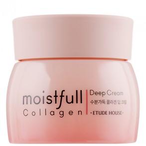 Омолаживающий крем с морским коллагеном Etude House Moistfull Collagen Deep Cream