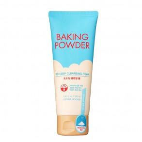 Очищающая пенка для смывания ББ крема и стойкого макияжа Etude House Baking Powder BB Deep Cleansing Foam