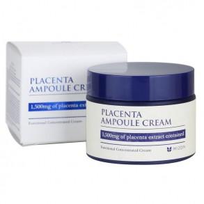 Восстанавливающий плацентарный крем для лица Mizon Placenta Ampoule Cream