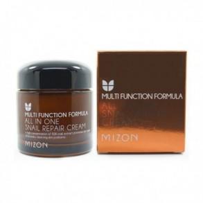 Восстанавливающий крем для лица с фильтратом слизи улитки Mizon All in One Snail Repair Cream