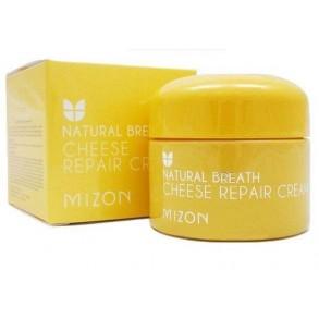 Восстанавливающий питательный крем с ферментами сыра Mizon Natural Breath Cheese Repair Cream