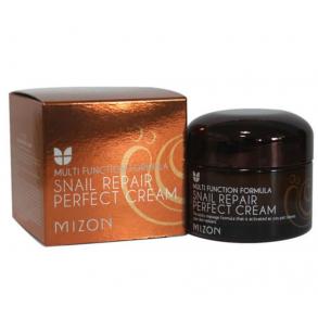 Питательный крем для лица с экстрактом улитки Mizon Snail Repair Perfect Cream