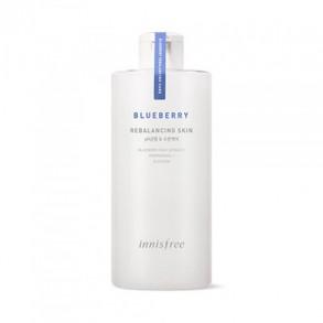 Тонер для нормальной и комбинированной кожи  Innisfree Blueberry Rebalancing Skin