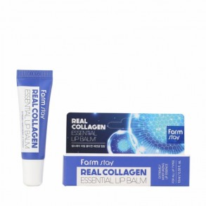 Бальзам для губ коллаген Farm Stay Real Essential Lip Balm Collagen
