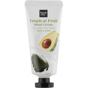 FarmStay Tropical Fruit Hand Cream Avocado & Shea Butter