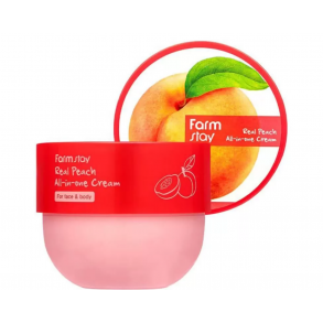 Крем для лица и тела с экстрактом манго FarmStay Real Peach All-In-One Cream