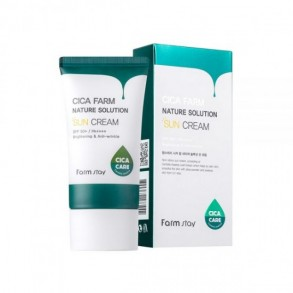 Солнцезащитный крем Farm Stay Cica Farm Nature Solution Sun Cream SPF50+ PA++++