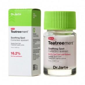 Точечное средство для лечения прыщей и постакне Dr.Jart+ Ctrl-A Teatreement Soothing Spot