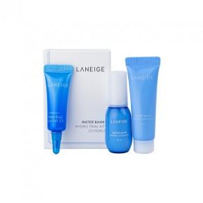 Набор миниатюр увлажняющих средств Laneige Water Bank Hydro 3 Kit
