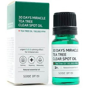 Масло для лица Some By Mi 30 Days Miracle Tea Tree Clear Spot Oil