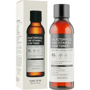 Антивозрастной тонер для лица с витамином С Some By Mi Galactomyces Pure Vitamin C Glow Toner
