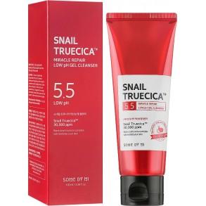 Заживляющий гель для умывания Some By Mi Snail Truecica Miracle Repair Low pH Gel Cleanser