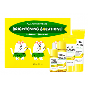 Осветляющий набор с юдзу Some by Mi Yuja Niacin 30 Days Brightening Solution 4 - Step Kit Limited Edition