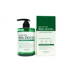 Гель многофункциональный успокаивающий с кислотами для лица Some By Mi AHA BHA PHA Real Cica 92% Cool Calming Soothing Gel