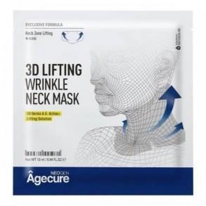 Лифтинг-маска для шеи Neogen Agecure 3D Lifting Wrinkle Neck Mask
