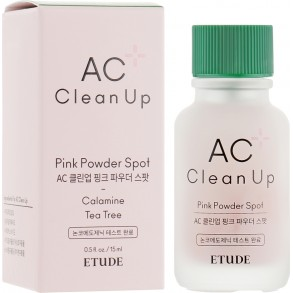 Точечное средство для борьбы с акне Etude House AC Clean Up Pink Powder Spot