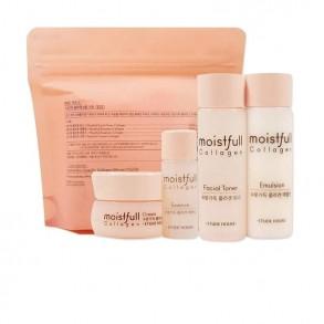 Набор антивозрастных средств с морским коллагеном Etude House Moistfull Collagen Skin Care Kit (4 Kinds)