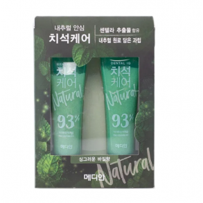 Median Natural Tartar Care Toothpaste Basil Flavor
