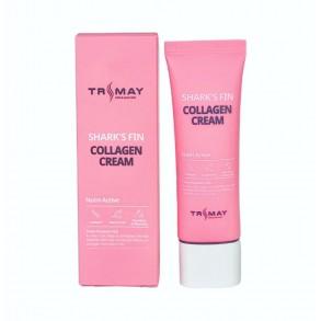 Крем-лифтинг для лица с коллагеном из плавника акулы Trimay Collagen sharks fin cream