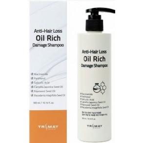 Питательный шампунь с маслами против выпадения волос Trimay Anti-Hair Loss Oil Rich Shampoo