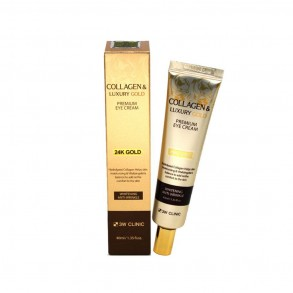 3W Clinic Collagen & Luxury Gold Premium Eye Cream