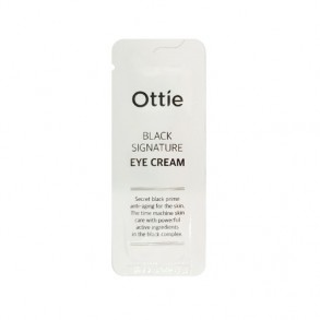 Крем вокруг глаз с муцином черной улитки Ottie Black Signature Eye Cream 2ml