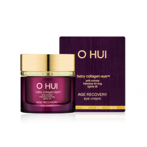 Антивозрастной восстанавливающий крем кожи вокруг глаз с коллагеном O Hui Age Recovery Eye Cream