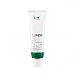 Успокаивающий крем для чувствительной кожи Dr.G Red Blemish Cica-S Cream 10ml